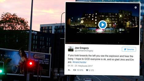 Isku tapahtui Ariana Granden konsertissa Manchesterin areenalla. Grande on syvästi järkyttynyt tapahtuneesta.
