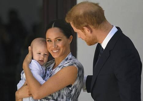 Prinssi Harry ja herttuatar Meghan esittelivät Archien syyskuun lopussa, jolloin he olivat vierailulla Afrikassa.