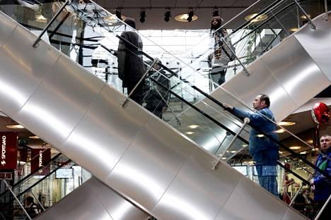 Kampin kauppakeskusta markkinoidaan jatkossa lontoolaistoimistosta.