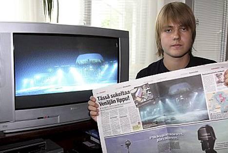 Waltteri Seretinin tarkat silmät paljastivat, että venäläisten sukelluskuva olikin Titanic-elokuvasta.