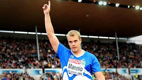 Ari Mannion uran kohokohta oli EM-pronssi tuloksella 82,63 Olympiastadionilla 2012 Tshekin Vitezslav Veselyn ja Venäjän Valeri Iordanin perässä. Se oli kotikisoissa Suomen ainoa mitali.