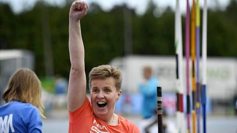 Marjaana Heikkinen voitti EM-kultaa.