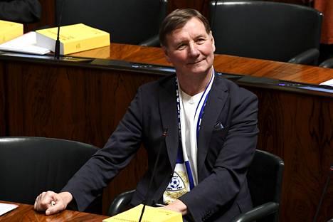 Kansanedustaja Jukka Gustafsson (sdp).