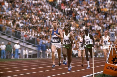Pekka Vasala voitti 1500 metrin olympiakultaa Münchenissa 1972.