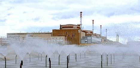 Balakovon ydinvoimala Venäjällä Saratovin kaupungissa.