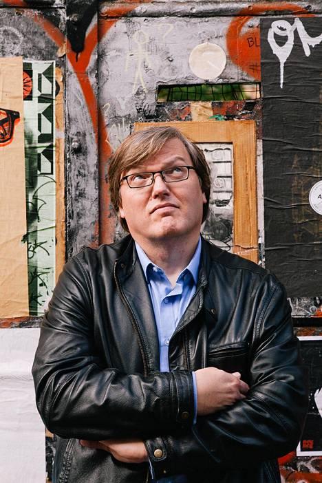 Jari Louhelainen vuonna 2014 kuvattuna.