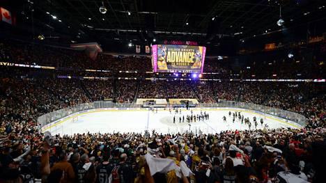 Vegas aloittaa Montreal-sarjan kotijäällään.
