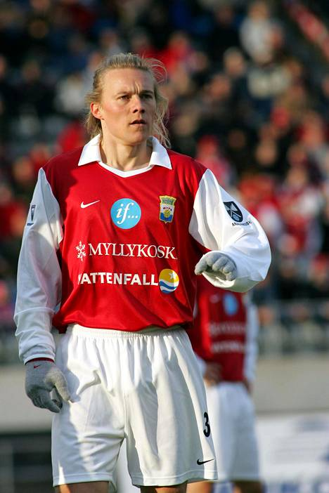 Sampsa Timoska MyPassa huhtikuussa 2005.