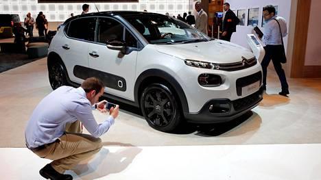 Citroën C3 esiteltiin tänään Pariisissa.