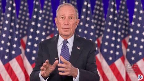 Mike Bloomberg käytti omaan vaalikampanjaansa yli miljardi dollaria.