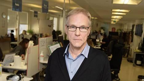 Kimmo Pietinen on työskennellyt pitkään Helsingin Sanomien toimituspäällikkönä.