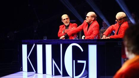 Kingi-tuomaristossa istui kolme Spede Pasasta.