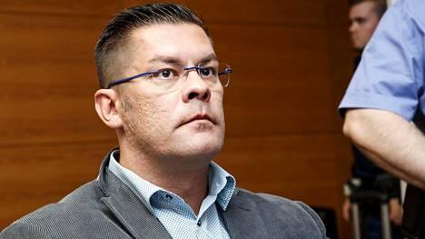 Ilja Janitskin Helsingin käräjäoikeudessa 13. kesäkuuta.