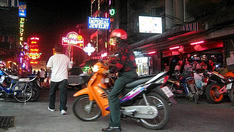 Pattayalla sattuu suomalaisillekin.
