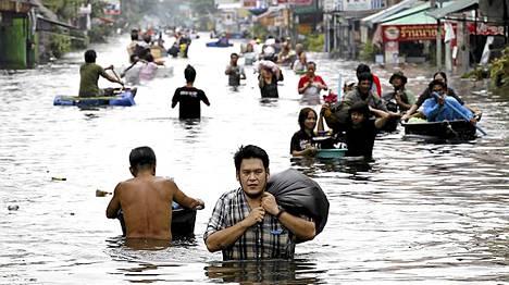 Rangsit, Thaimaa, 20.10.2011.