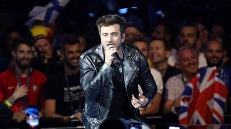 Suomen esitys ei menestynyt euroviisuissa.