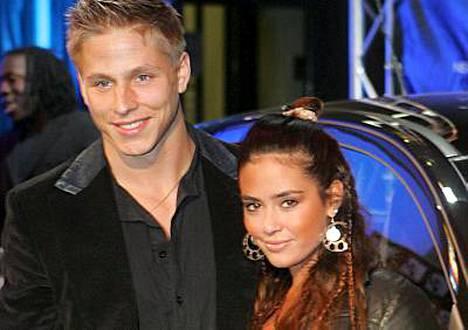 Markus Pöyhönen ja hänen tuore morsiamensa Sofia Zida poseerasivat ensimmäistä kertaa yhteiskuvissa Diddyn ja Snoop Doggin yhteiskeikalla maaliskuussa.