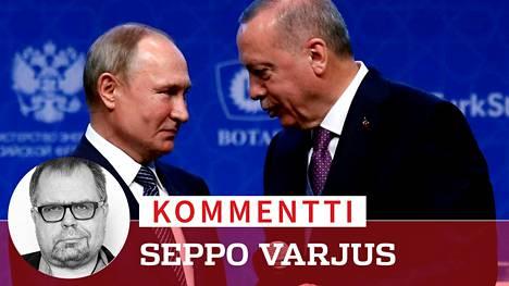 Putin ja Erdogan käyvät välikäsien kautta sotia toisiaan vastaan, mutta se ei estä diilejä heidän välillään.