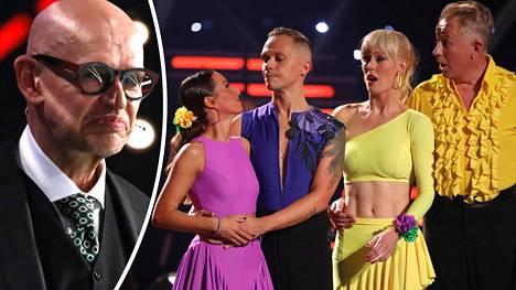 Jorma Uotinen puolustaa Tanssi tähtien kanssa -ohjelman sunnuntaisia käänteitä.