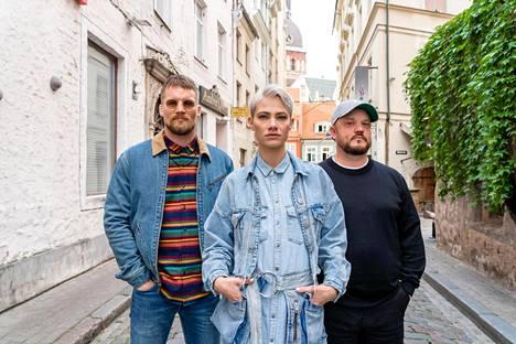 Teemu Packalén, Aino Sirje, Mikko Kuoppala selvittivät tiensä Myyrän finaaliin.