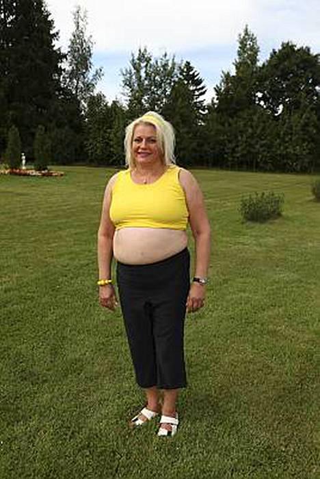 Arja Sipola ilmoittaa painokseen 89 kiloa.