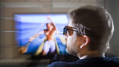 3d-television katselu edellyttää laseja.