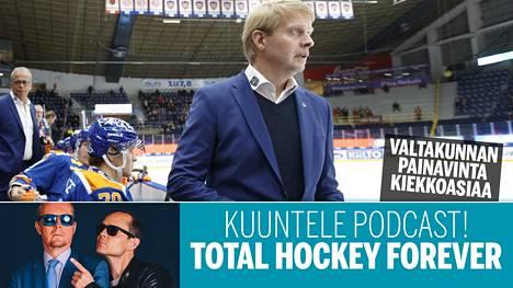 Jukka Rautakorpi on valmentanut Tapparassa useaan otteeseen ja menestyksekkäästi. Nyt hän työskentelee seuran urheilujohtajana.