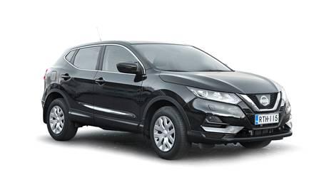 Nissanin malleista muun muassa Qashqai kelpaa ostajille hyvin myös käytettynä.
