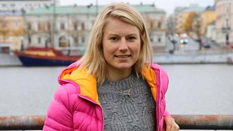 MM-pronssimitalisti Lotta Lepistö Porissa 2018.
