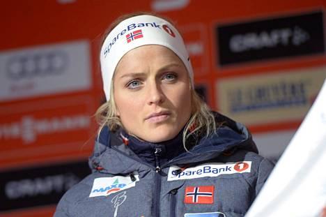 Therese Johaug kärysi dopingista syyskuussa.