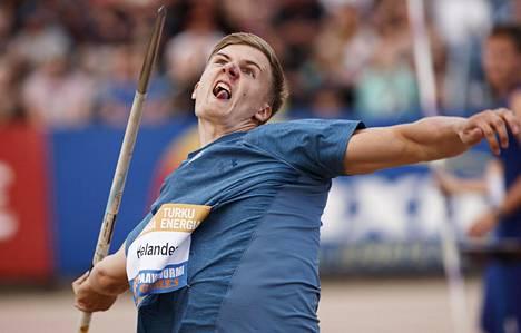 Oliver Helanderin odotettu paluu heittopaikalle nähdään Espoossa puolentoista viikon päästä.