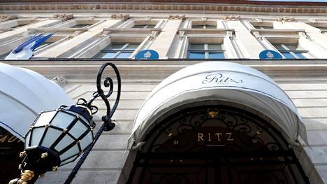 Ritz-hotelli on yksi Pariisin ylellisimmistä majoituspaikoista.