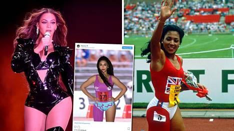 Kuvat: Beyoncé kunnioitti asullaan kuollutta kohu-urheilijaa – Flo-Jo tukehtui nukkuessaan vain 38-vuotiaana