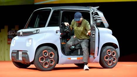 Viime vuoden Geneven autonäyttelyssä ensivilautetun Citroënin Amin tuotantoversio on säilyttänyt konseptimallin rohkeuden.