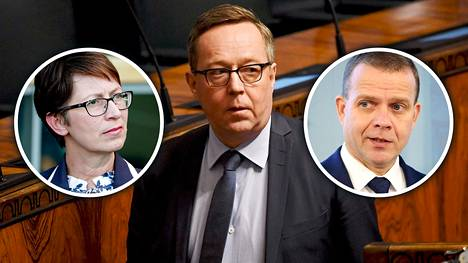 Valtiovarainministeri Mika Lintilä (kesk) myönsi opposition ristitulessa, etteivät hallituksen työllisyystoimet riitä.