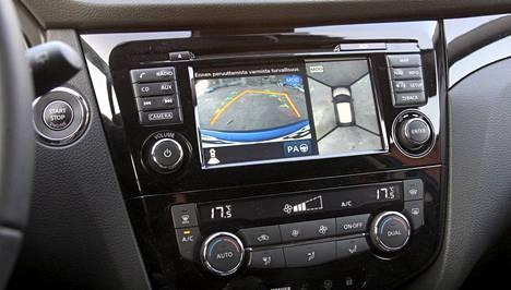 Nissan Connect -järjestelmä löytyy kaikkine herkkuineen Tekna-tasosta.