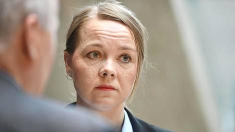Katri Kulmuni (kesk) uskoo, että Suomesta tullaan vielä näkemään miehitettyjä avaruuslentoja.