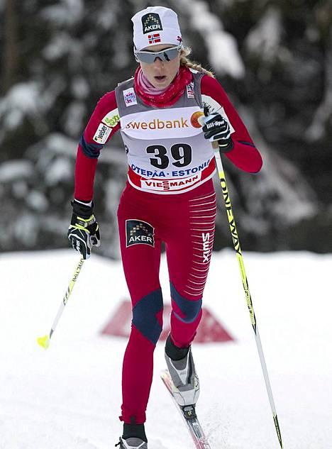 Tältä luonnostaan laiha Störmer Steira näytti 11 päivää sitten Otepään maailmancupkisassa.