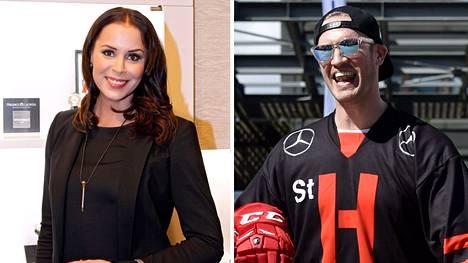 Jenni Dahlman ja Ossi Väänänen ovat nyt naimisissa.