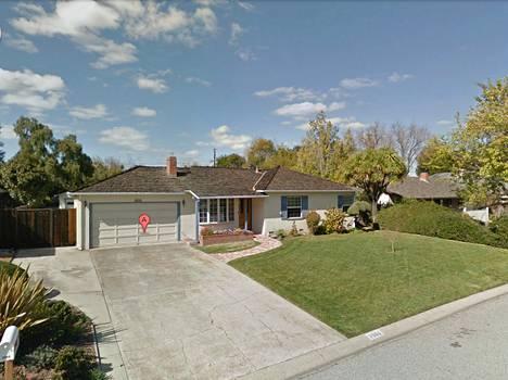 Google Driven kuva Steve Jobsin lapsuudenkodista.