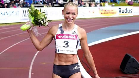 Annimari Korte juoksi uuden naisten pika-aitojen SE-tuloksen.