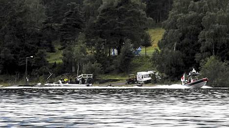Täältä Utöyan saarelta joukkosurmaaja Breivik soitti poliisille surmatöiden aikana.