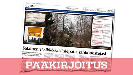 Helsingin Sanomien alkuperäinen juttu ilmestyi lauantaina 16.12.