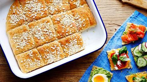 Uunituore leipä on yksi ihanimmista herkuista.