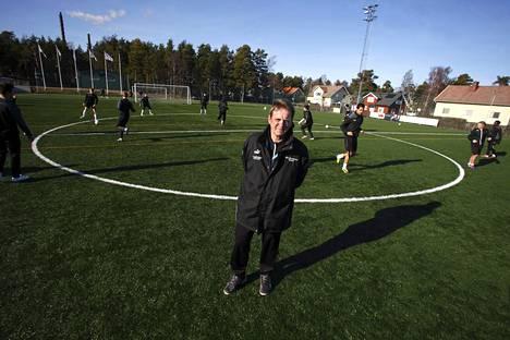 Pekka Lyyski valmensi IFK Mariehamnia vuodesta 2002 viime kauteen.