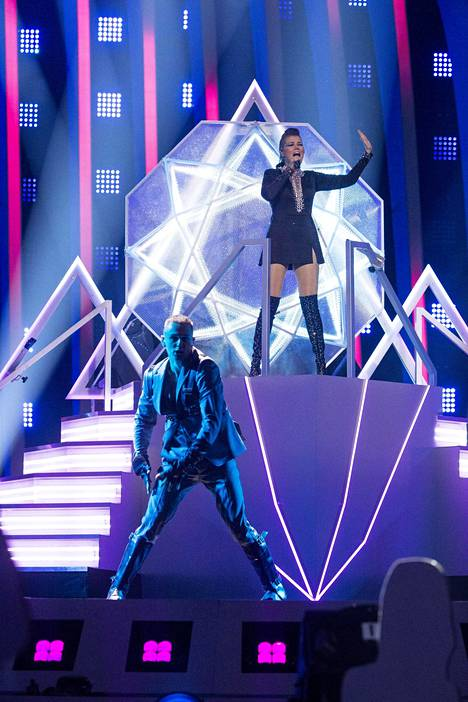 Saara Aallon Monsters-show oli Yleltä iso panostus euroviisuihin.