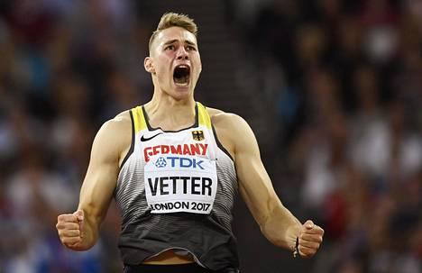 Johannes Vetteriltä on lupa odottaa lukuisia 90 metrin heittoja.