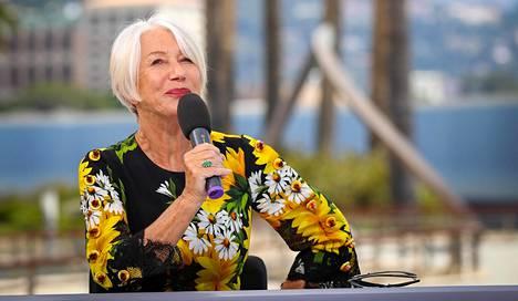 IS Tv-lehti tapasi Helen Mirrenin Monacossa, jossa hän kiitti pitkästä urastaan ahkeraa työntekoa.