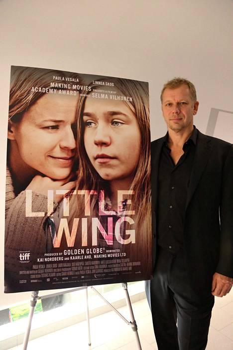 –On hienoa, että Tyttö nimeltä Varpu on Golden Globe -kisassa, elokuvan tuottaja Kai Nordberg iloitsee.