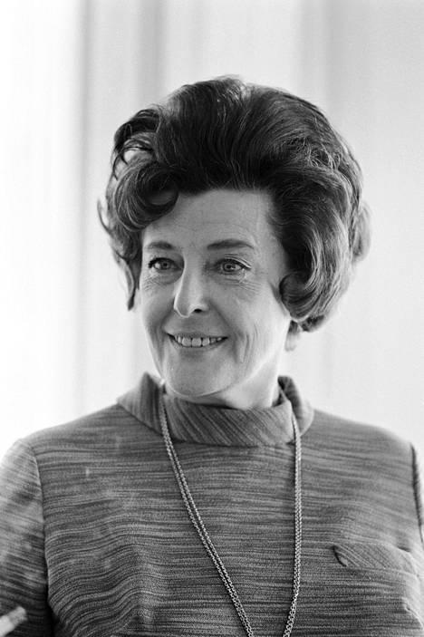 Ester Toivonen-Siirala kuvattuna vuonna 1970.